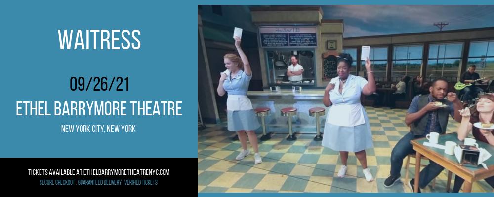 Waitress at Ethel Barrymore Theatre